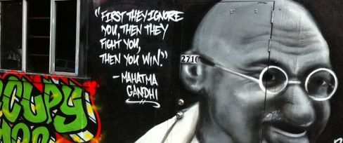Gandhi Graffiti